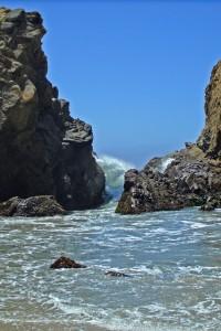 Photo Surging Wave at Big Sur