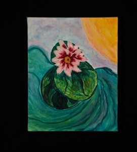 Water Flower in 3-D